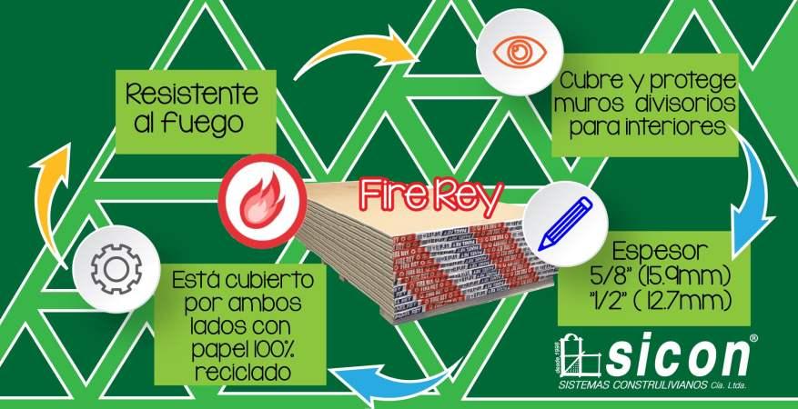 Plancha Fire Rey