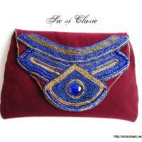Haute couture embrodery - handbag