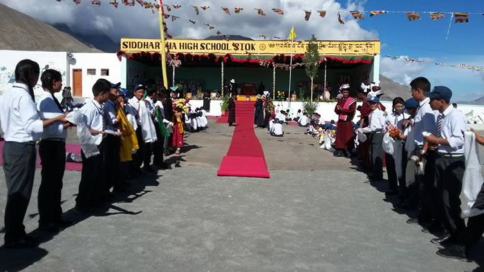 His Holiness the Dalai Lama's Visit to Siddhartha School