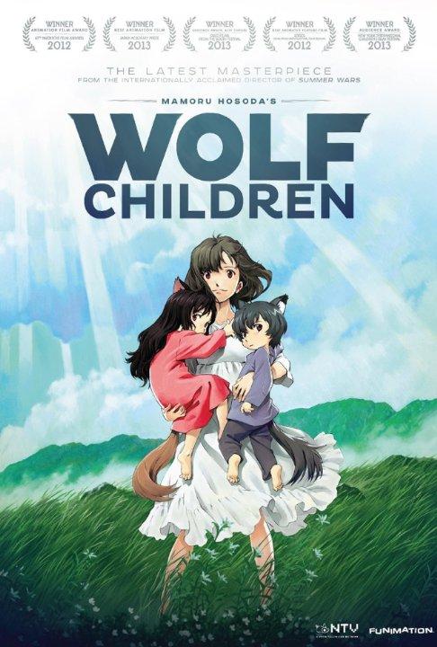 Wolf Children - movie poster - property of property of Nippon Television Network, Studio Chizu, Madhouse, et al. - from http://www.imdb.com/media/rm3710568448/tt2140203?ref_=tt_ov_i