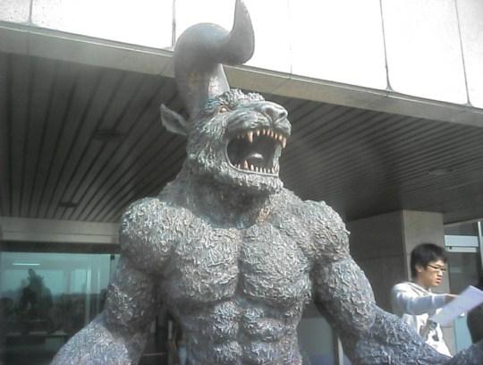 Nosferatu Zodd berserk big statue