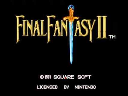 Final Fantasy Menus