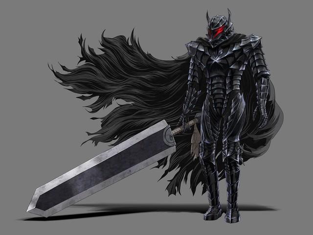 Guts in his beloved Berserker Armor from Berserk 2017