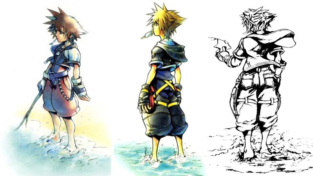 Kingdom Hearts through the years