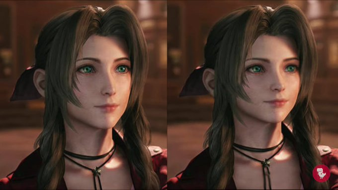 aerith west vs east