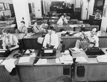 old newsroom - should there be a reporter's privilege?