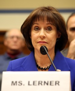Lois Lerner was found in contempt of Congress