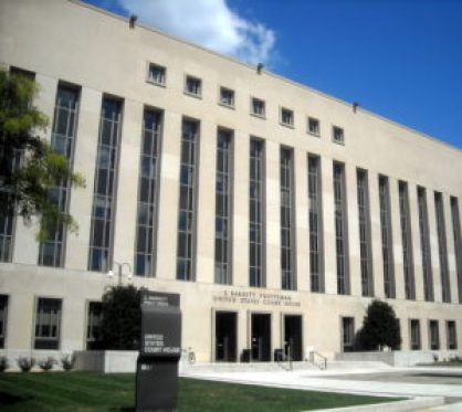 The D.C. federal courthouse