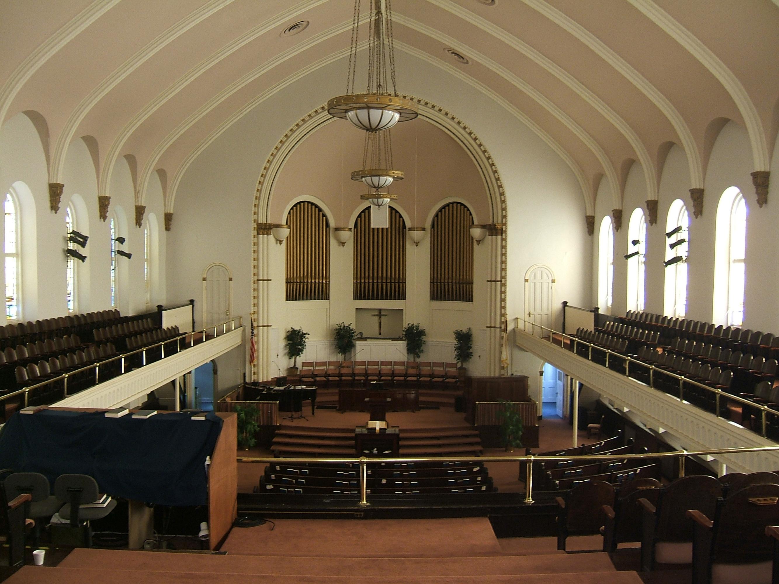 Citadel Square Baptist Church Rehabilitation Sidebottom