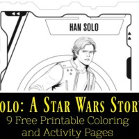 Solo: A Star Wars Story 9 Free Printable Coloring and Activity Pages