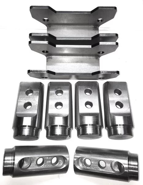 Models Polaris RZR RS1 Bungs Roll Cage Connector 2 Seat Kit 1 3//4 x .095 /&.120 wall Fits 2018