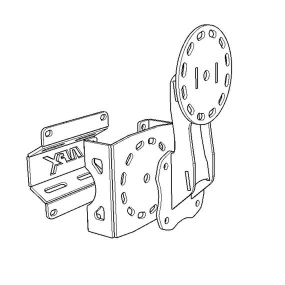 Universal Accessory Mounting System with Extender
