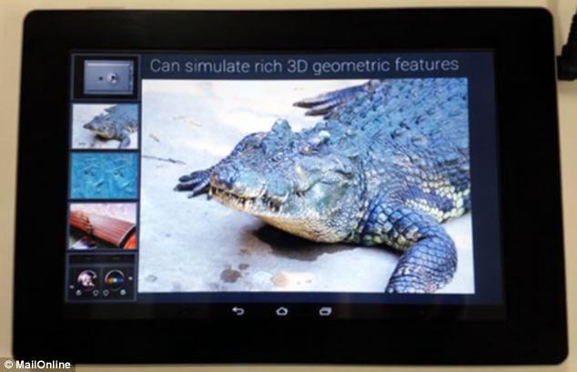 Fujitsu Touch Screen Feels like toughing water