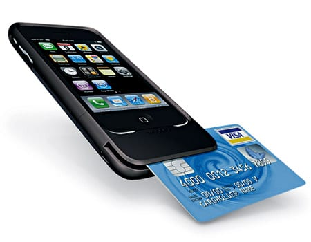 Process credit cards with smart phone