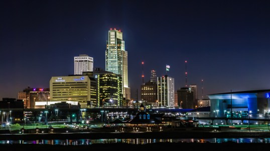 Downtown Omaha (ping/credit above)