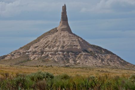 Chimney Rock (ping/credit above)