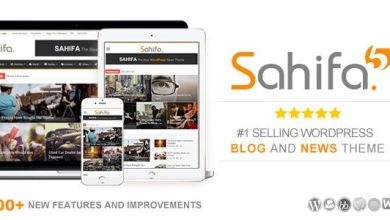 Photo of Sahifa 5.6.16 – Responsive WordPress News / Magazine / Blog Theme