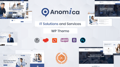 Photo of [Free Download] Anomica – IT Solutions and Services WordPress Theme (Nulled) [Latest Version]