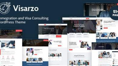 Photo of Visarzo – Immigration and Visa Consulting WordPress Theme