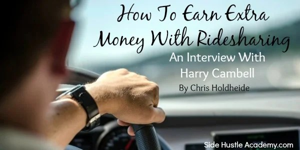 How to earn extra money with ridesharing