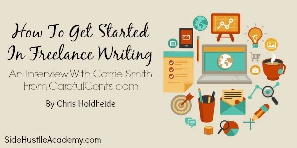how to get started in freelance writing