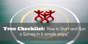 How to Start and Run a Survey in 6 simple steps