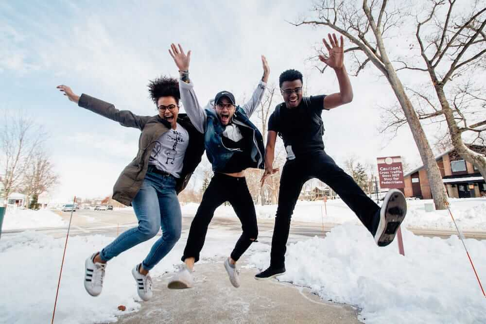 High school students getting Side Hustle Business School for free