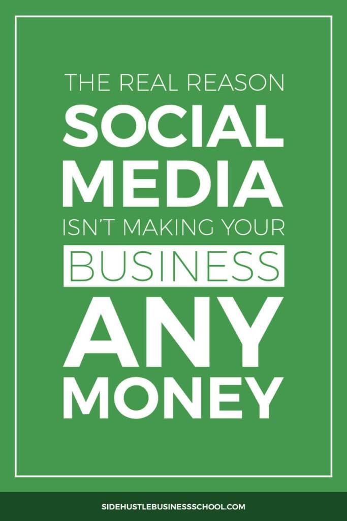 Why You Can't Make Money From Social Media Pin