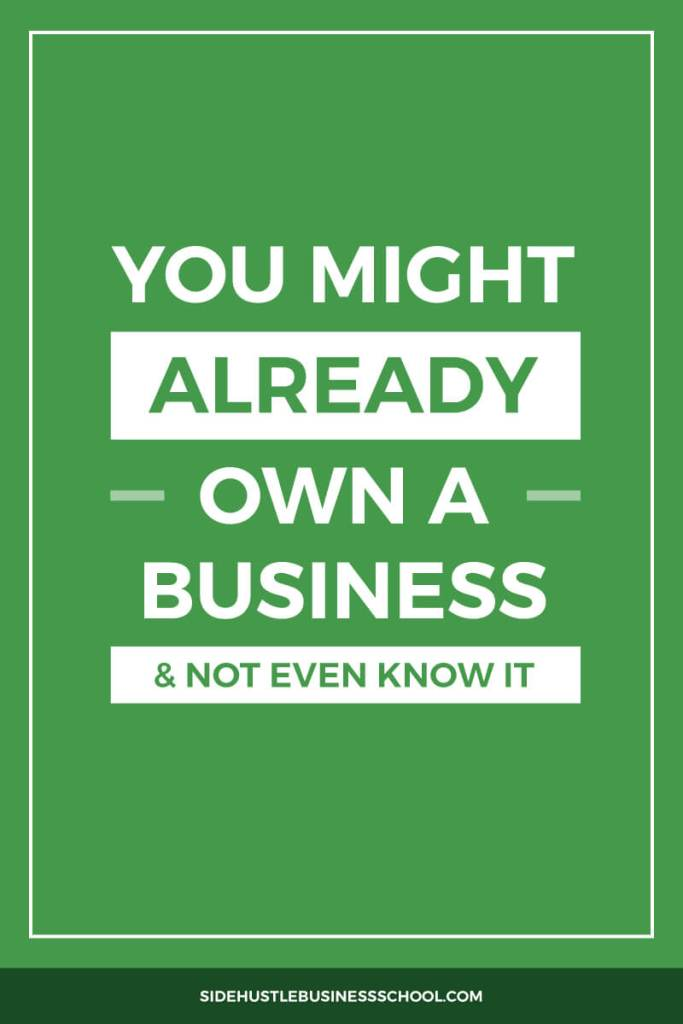 A Sole Proprietorship: You Might Already Own a Business and Not Even Know It graphic