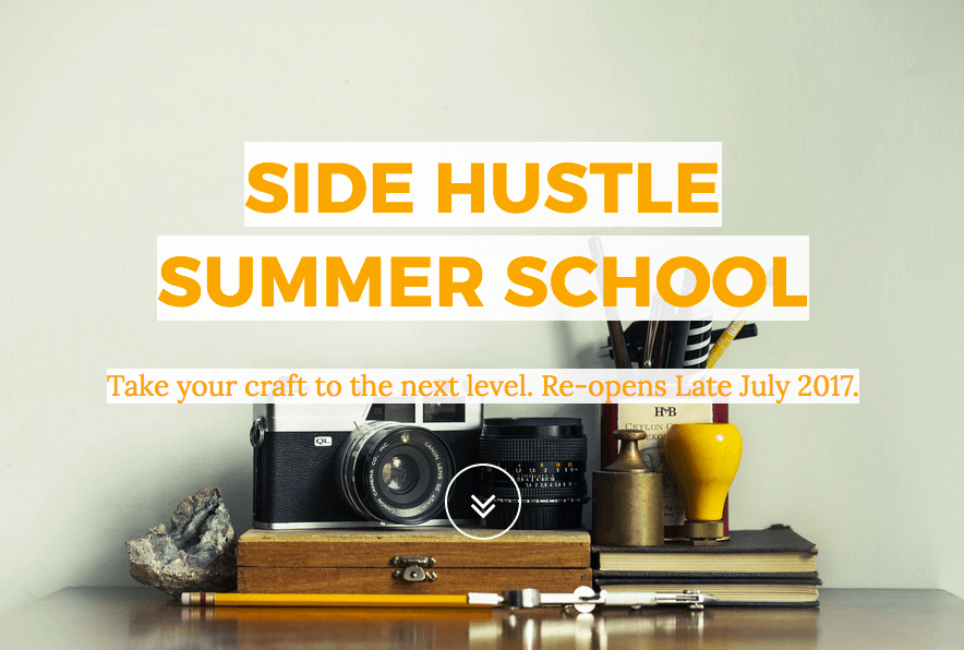 Side Hustle Summer School