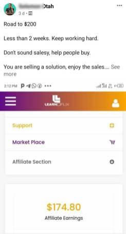 learnoflix Affiliate program 7 figure Affiliate Marketing Program How to make money online in nigeria