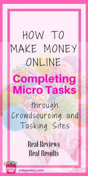 How to Make Money Online through Crowdsourcing and Tasking Sites