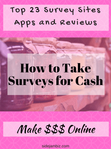 legit survey sites that actually pay cash