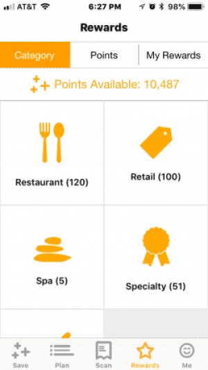 Fetch Rewards App - Redeem Points