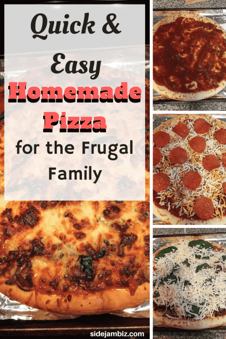 Quick and Easy Homemade Pizza for the Frugal Family