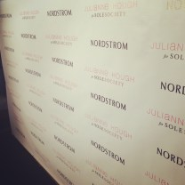 The backdrop for Step and Repeat and pictures