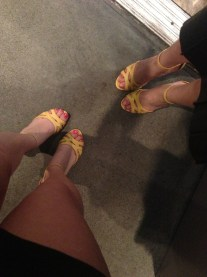 The adorable Julianne Hough for Sole Socitey shoes me and the rest of the MML PR girls wore!