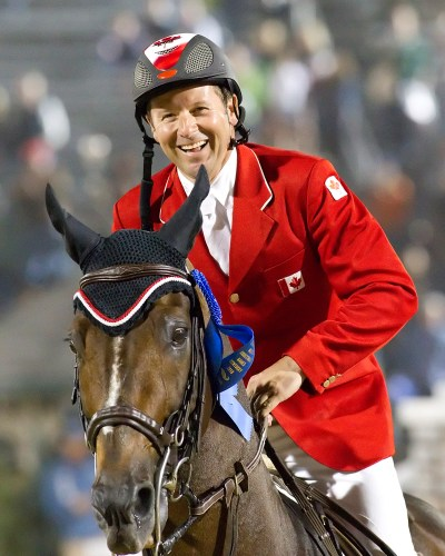 With Hickstead, Eric Lamaze enjoyed major grand prix victories around the world. Photo by Cealy Tetley