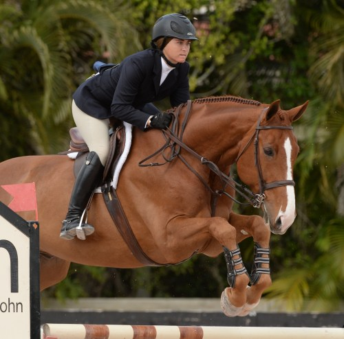 Tori Colvin, who rides with Missy, and Dr. Betsee Parker's Patrick dominated the equitation division at the 2014 Winter Equestrian Festival in Wellington, Florida, and secured the Christy Conard Perpetual Trophy for Equestrian Excellence with four weeks remaining in the circuit. Photo by The Book LLC 2014