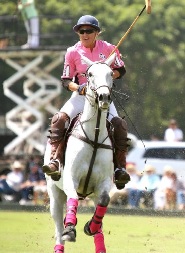 Pretty in pink with the Crab Orchard team at the International Polo Club in Wellington, Florida. Photos by Sheryel Aschfort, The Polo Paparazzi.