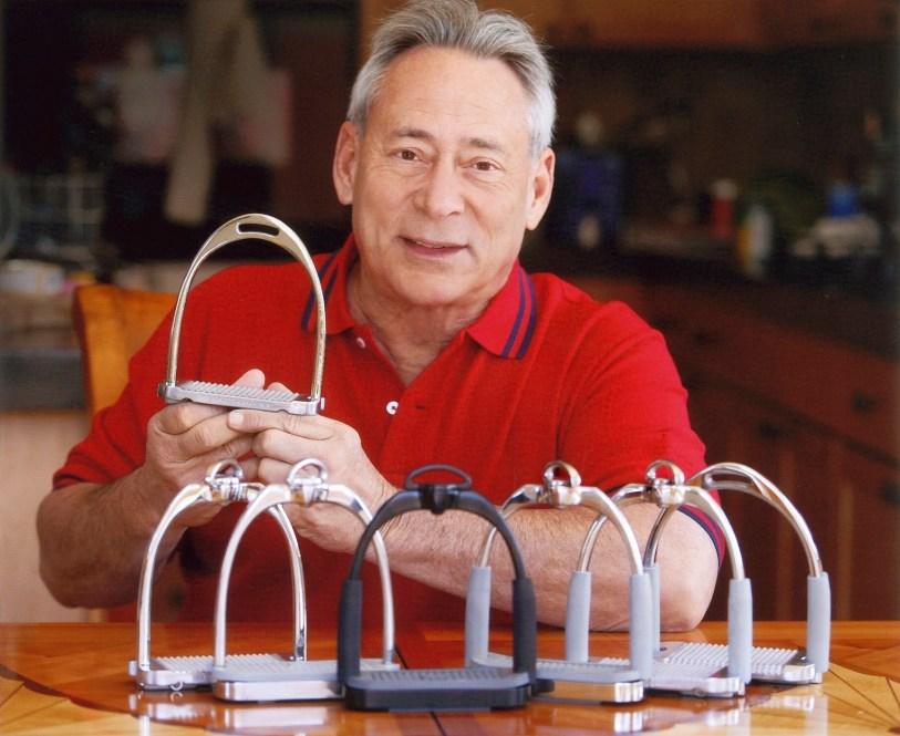 Martin David Cohen, founder of MDC stirrups. (Photo courtesy of MDC)