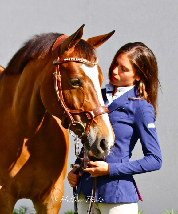 Nataly gave up a medical career to devote her life to horses. (Photo by S Hellner Photography, Shellner.Photoshelter.com)
