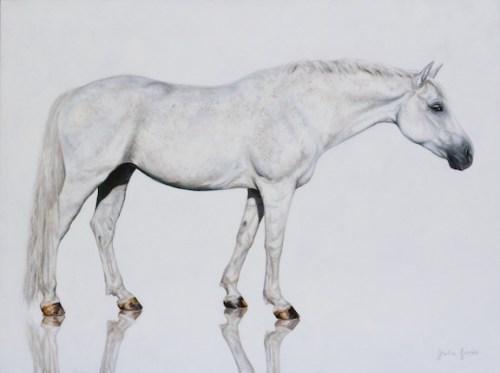 """Quiet Strength"" — Oil on Canvas, 36""x48"""