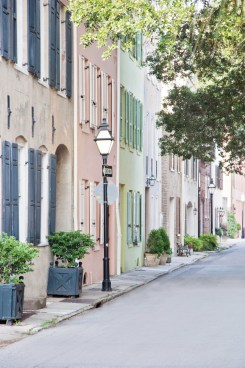 The Historic District of Charleston shows off true colonial craftsmanship.