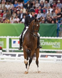 Laura Graves and Verdades' partnership, dedication and hard work has taken then on the journey that many equestrians dream of — the road to Rio and the 2016 Olympic Games. Photo by Allen MacMillan/MacMillan Photography