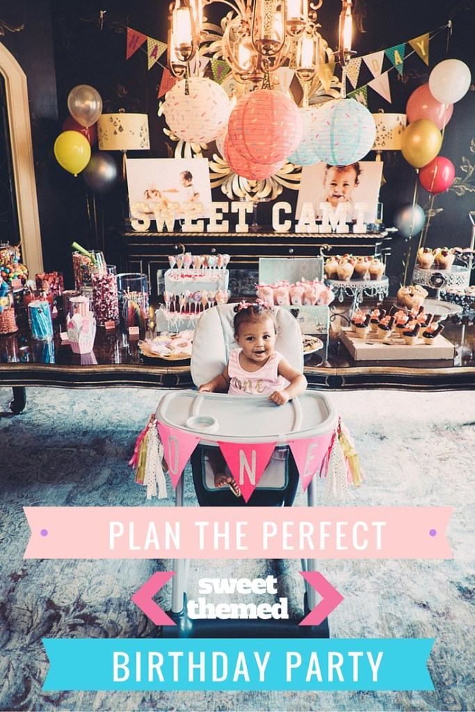 plan the perfect sweets theme party