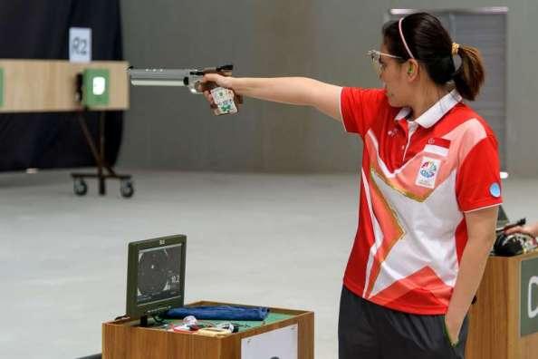 Sideline Socialite 2016 Olympics Shooting