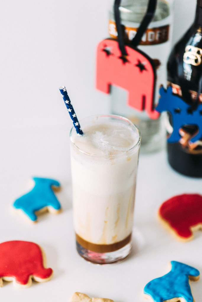 Election Day Cocktail: Salted Caramel White Russians Sideline Socialite
