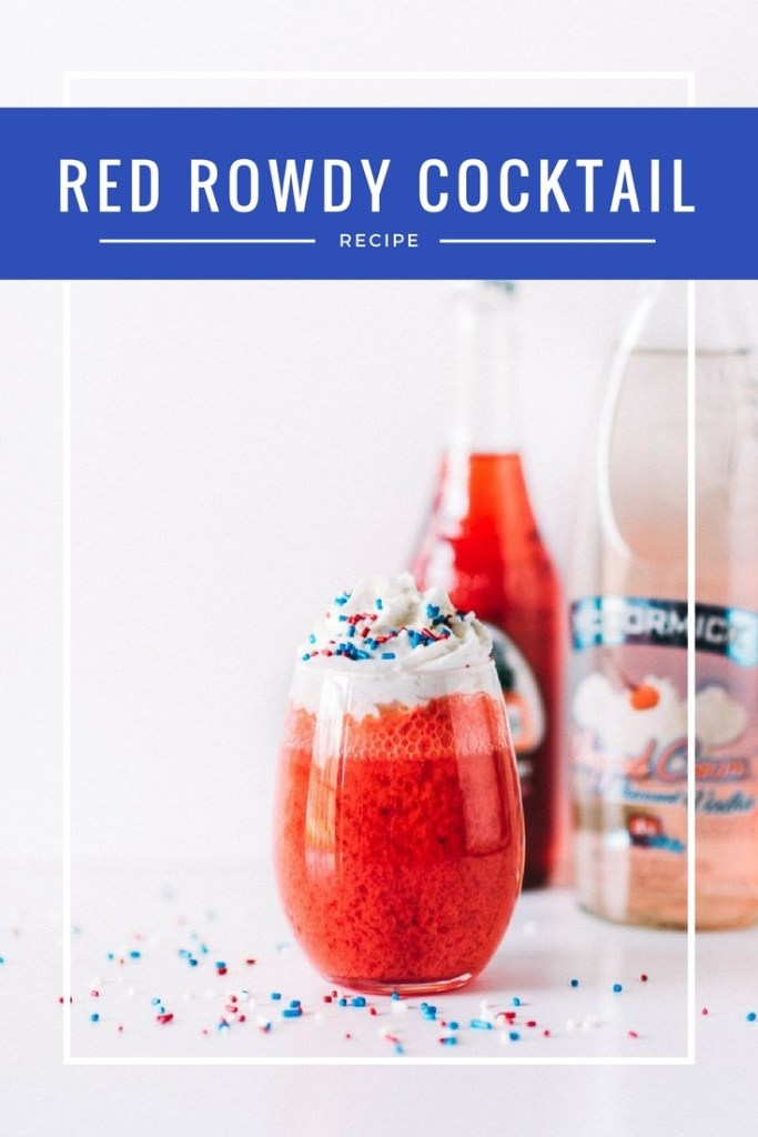 Red Rowdy Cocktail Recipe