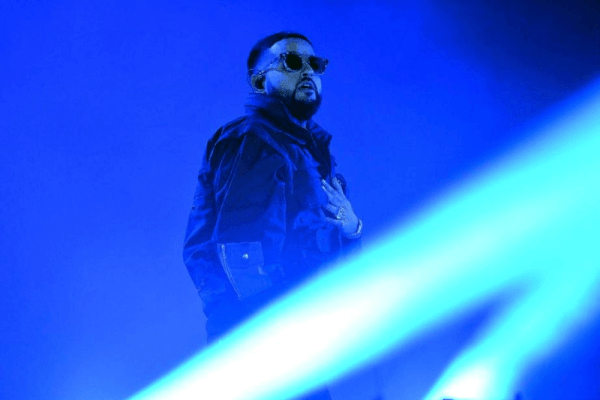 LOS ANGELES, CALIFORNIA - DECEMBER 14: Musician Nav performs onstage during day 1 of the Rolling Loud Festival at Banc of California Stadium on December 14, 2019 in Los Angeles, California.